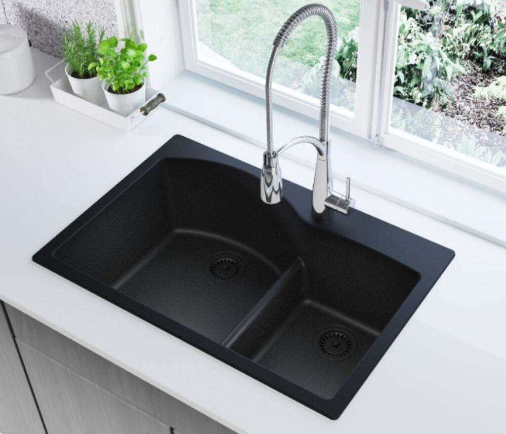 Kitchen cabinet sink